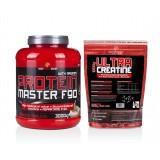 Body World Group Muskelaufbau-Duo 3,0 kg Protein + 1,0 kg Creatin