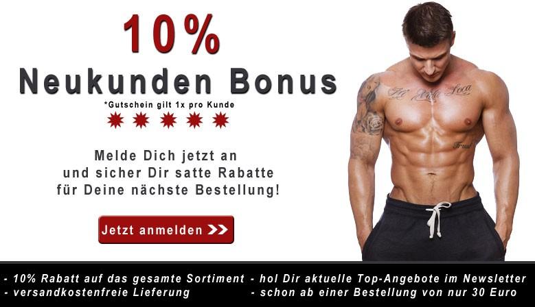 10% Neukunden Bonus bei der nächsten Bestellung