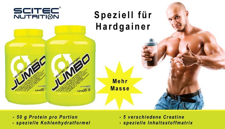 Scitec Jumbo - Weight Gainer für mehr Masse
