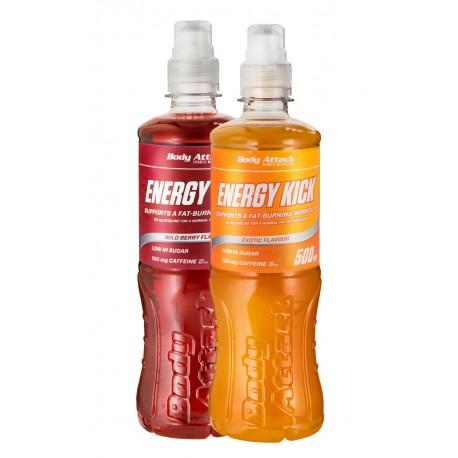 Body Attack Energy Kick - 500 ml
