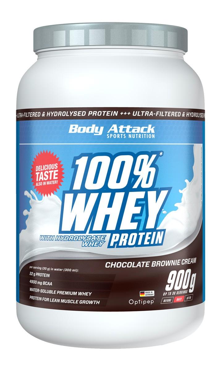 Body Attack 100% Whey Protein 2,3kg