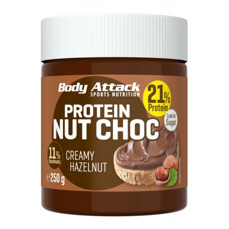 Body Attack Protein Nut Choc - 250 g