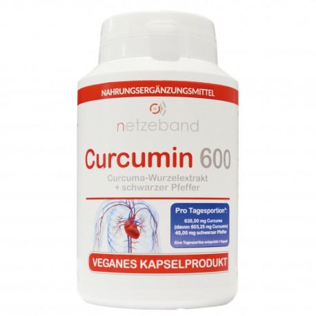 Netzeband Curcumin 600 - 100 Kapseln