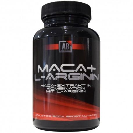 Athletics Body Maca + L-Arginin - 120 Kapseln