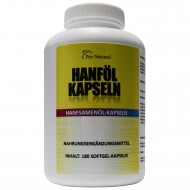 Pro Natural Hanföl Kapseln - 180 Softgel-Kapseln