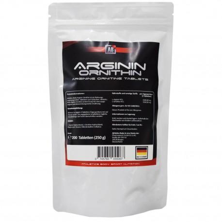 Athletics Body Arginin-Ornithin - 200 Tabletten