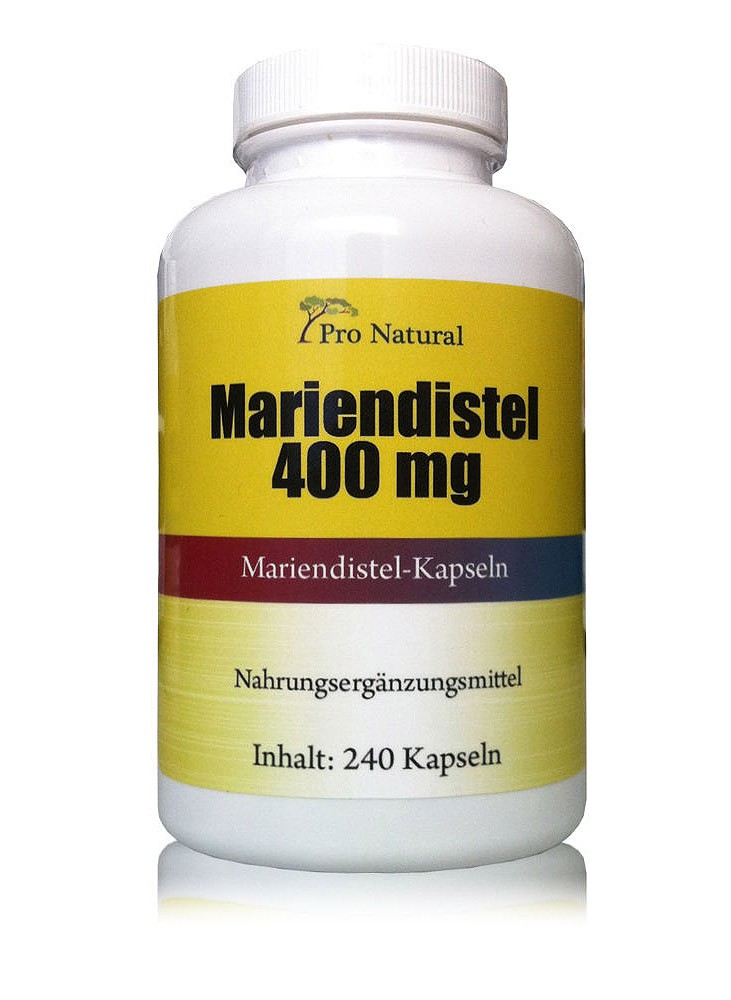 Pro Natural Mariendistel 400mg
