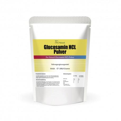 Pro Natural Glucosamin HCL Pulver - 500g