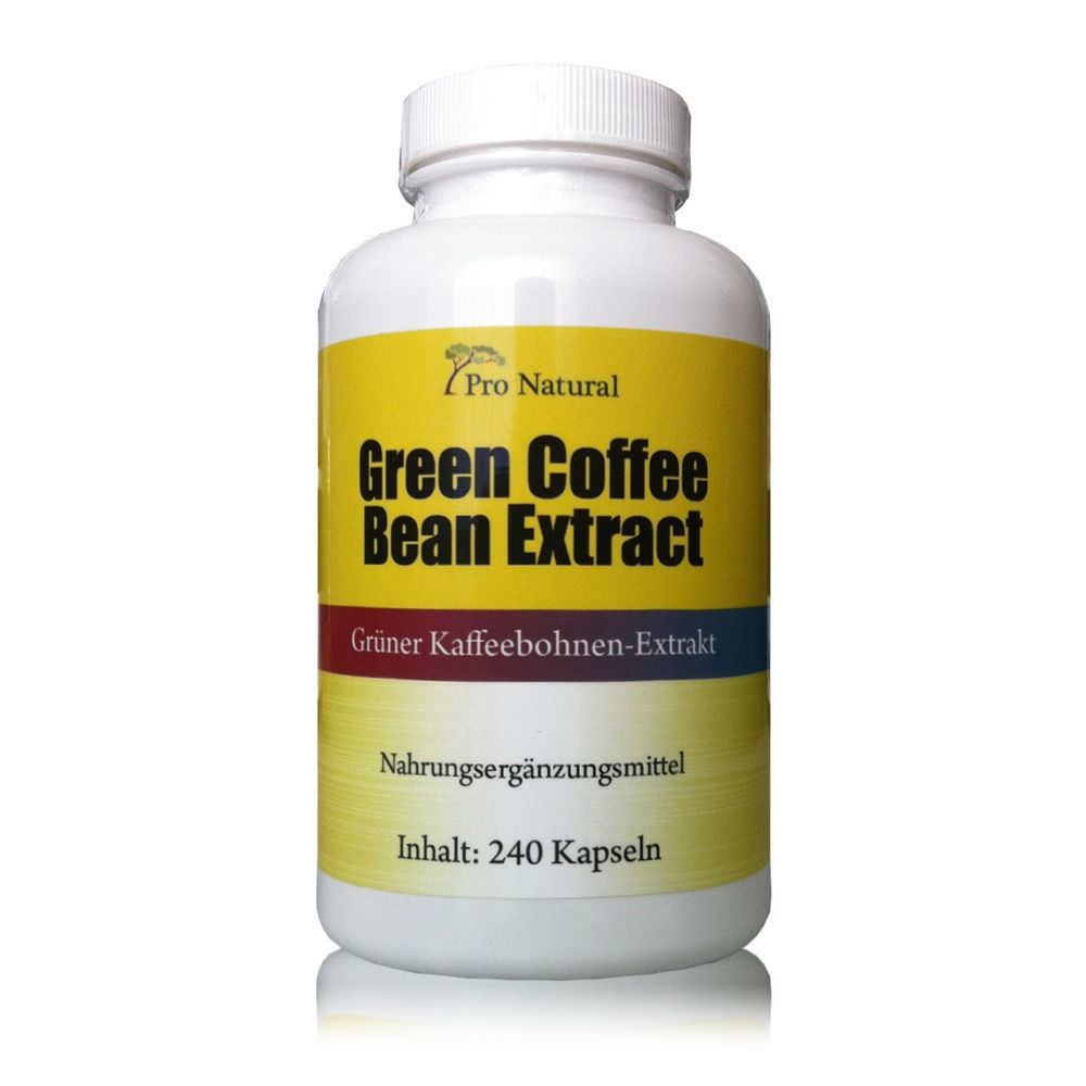 Pro Natural Green Coffee Bean Extract