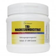 Pro Natural Tri-Magnesiumdicitrat 500g