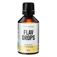 Body Attack Flav Drops - 50ml