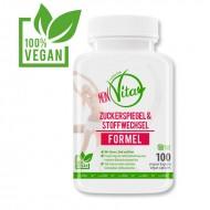 MeinVita Zuckerspiegel & Stoffwechsel Formel