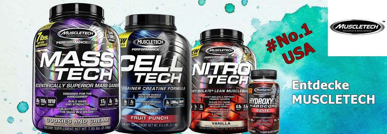 Nr. 1 USA Supplements Muscletech