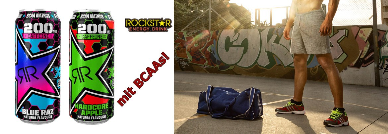 Rockstar Energy Drin XD mit BCAAs!
