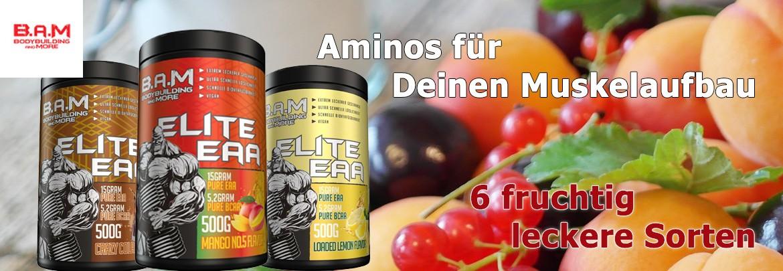 BAM Elite EAAS 500 g Amino Pulver
