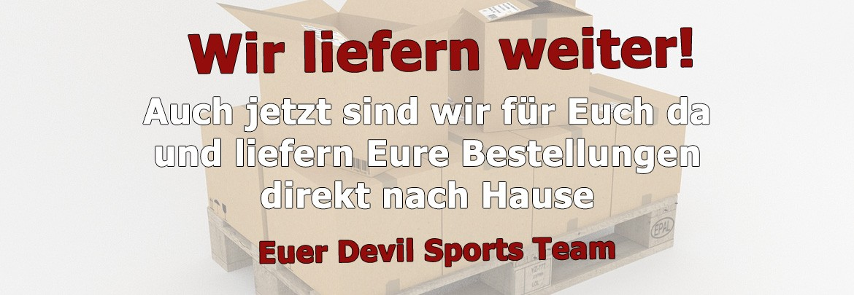 Devil Sports liefert in Zeiten des Corona Virus weiter!